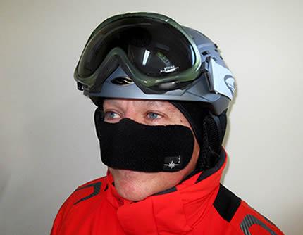 cache nez ski